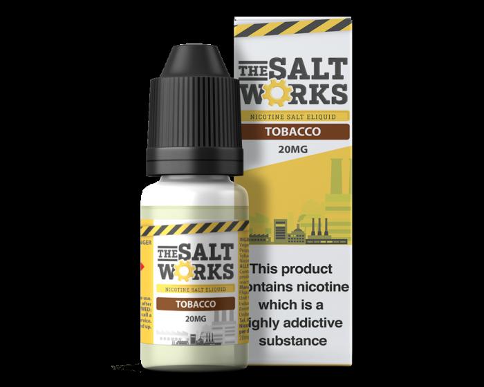 The Salt Works Nic Salts Eliquid Tobacco 20mg 10ml
