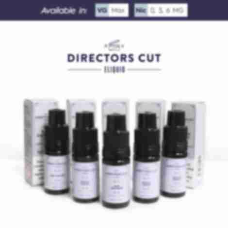 Directors Cut Eliquid Sample Pack (5 x 10ml)