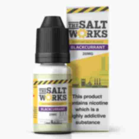 The Salt Works Nic Salts Eliquid Blackcurrant 20mg 10ml