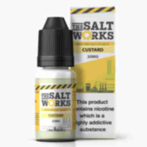 The Salt Works Nic Salts Eliquid Custard 20mg 10ml
