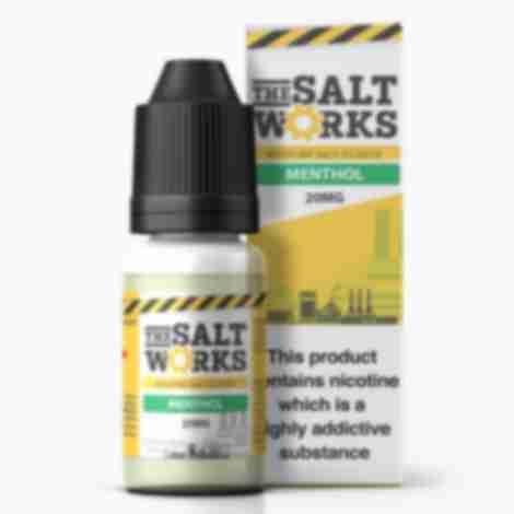 The Salt Works Nic Salts Eliquid Menthol 20mg 10ml
