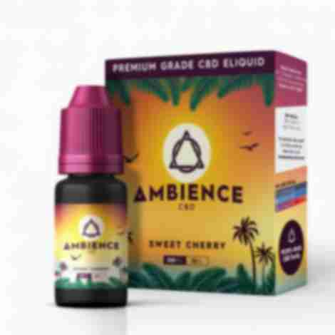 Ambience Sweet Cherry CBD Eliquid 10ml