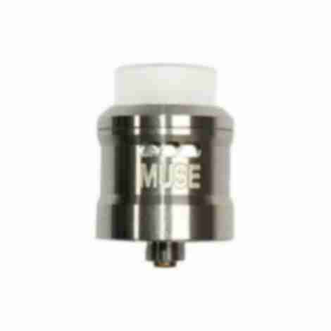 Vapeam Muse RDA Rebuildable Atomiser Shiny Silver