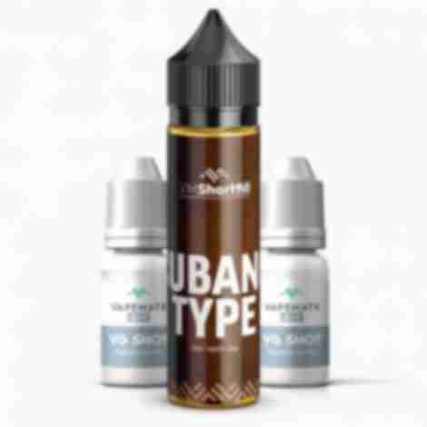 Cubano Type Shortfill Eliquid
