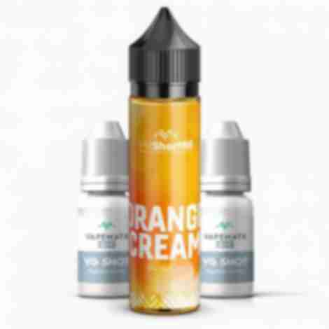 Orange Cream Shortfill Eliquid