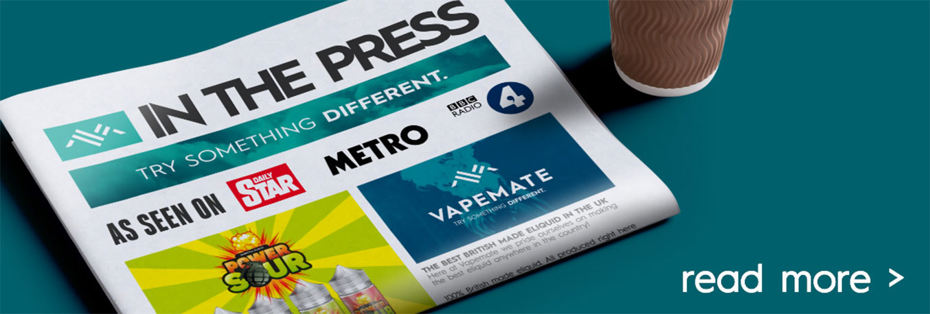 Vapemate in the press