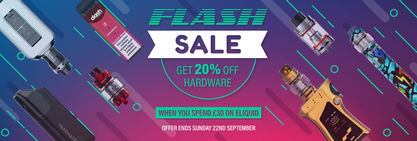 Vapemate Flash Sale - 20% Off Hardware
