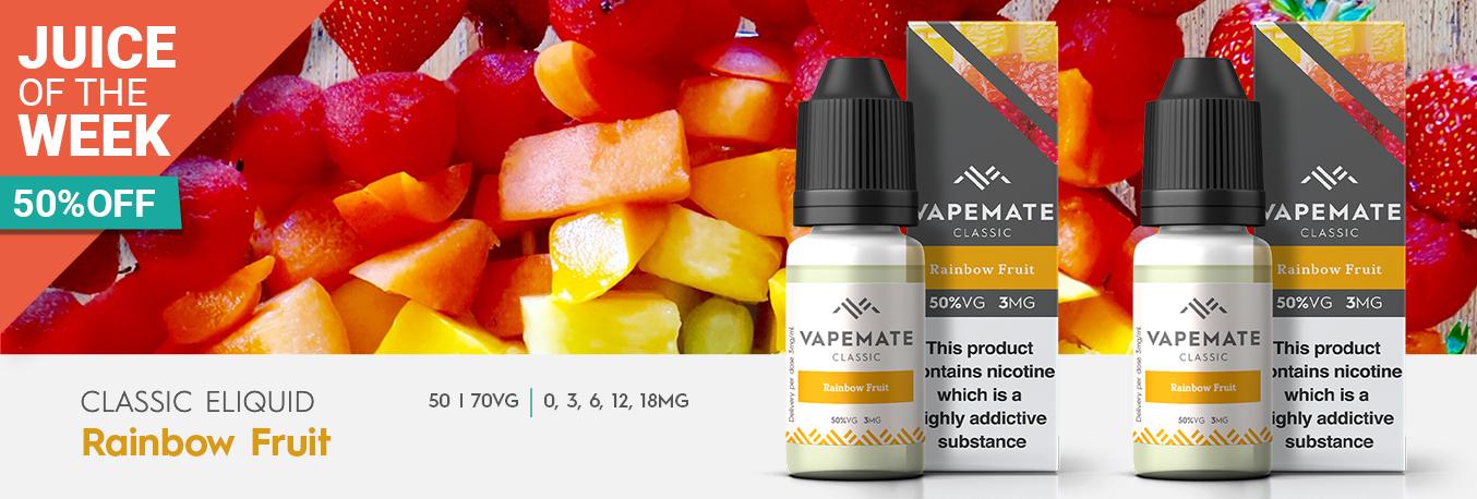 Juice of the Week Rainbow Fruit Eliquid
