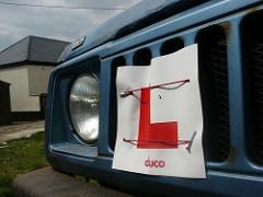 Beginner's L Plate