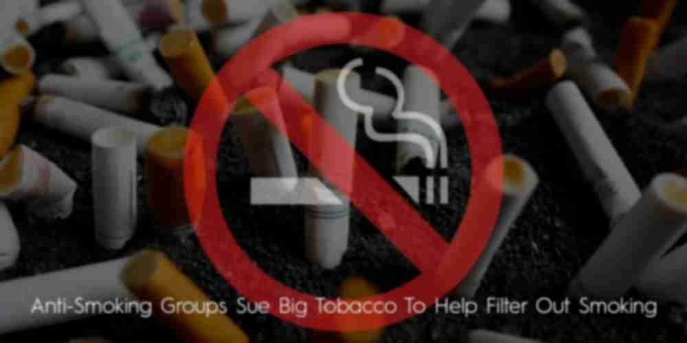 Anti-smokers have launched a lawsuit against the big tobacco companies in France