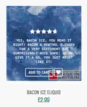 Bacon Ice Eliquid