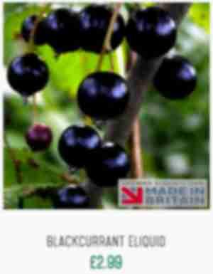 Blackcurrant eliquid