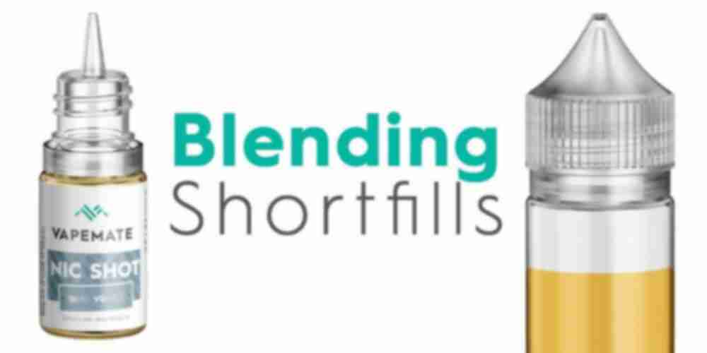 How to blend shortfill eliquid