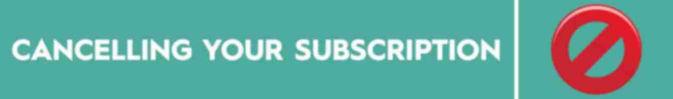 Cancelling Your Eliquid Subscription