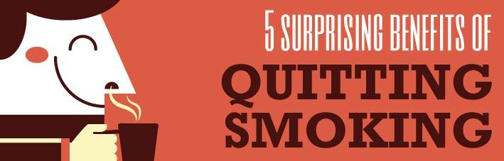 5 surprising benefits to quitting smoking