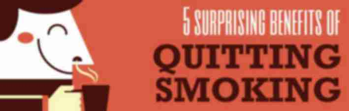 5 surprising benefits to quitting smoking
