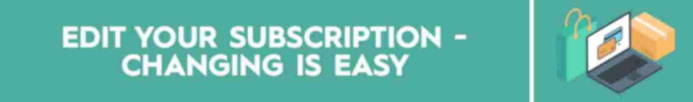 Edit Your Subscription