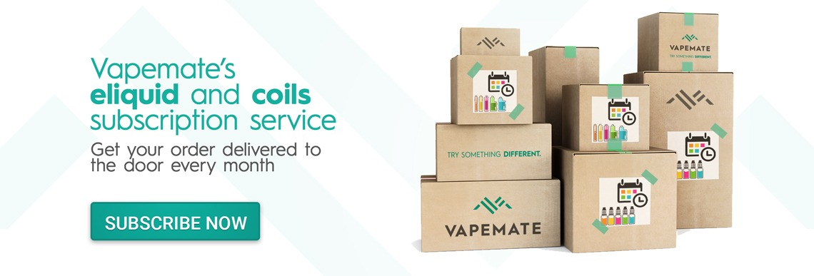 Vapemate eliquid and coil subscriptions
