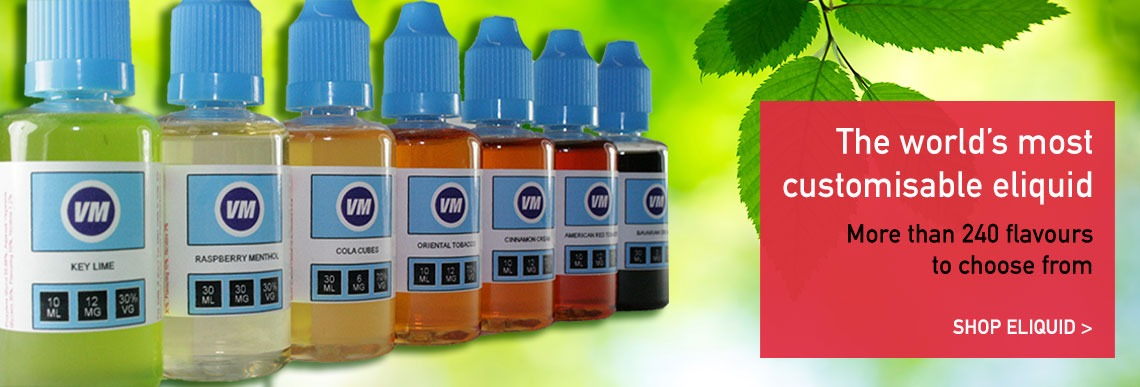 More than 250 flavours of eliquid