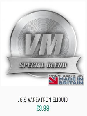 JGs Vapeatron Eliquid