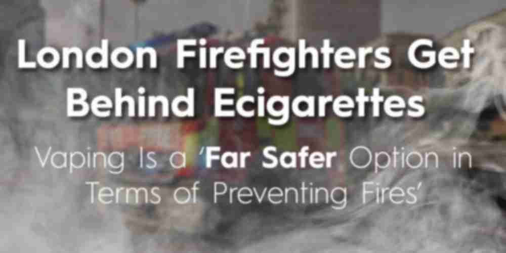 Firefighters Back Vaping During Swaptober
