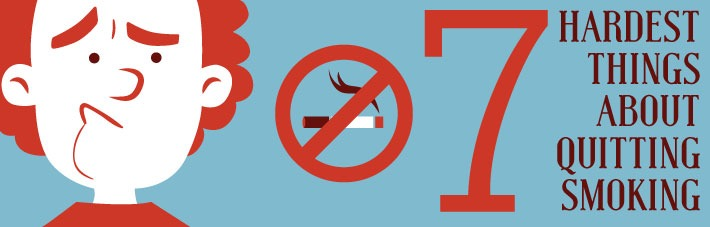 7 hardest things about quitting smoking