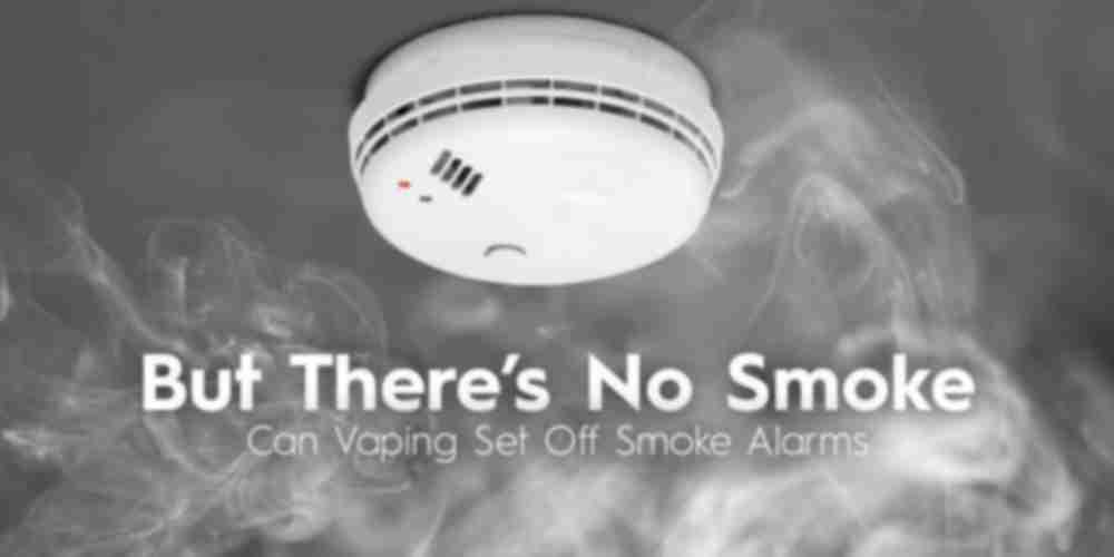 Can Vaping Set Off Your Smoke Alarm?