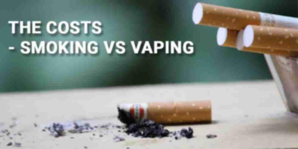 Smoking vs Vaping Costs