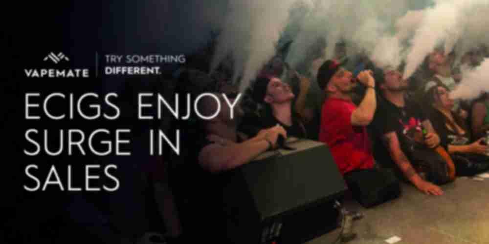 ecigarette sales surge