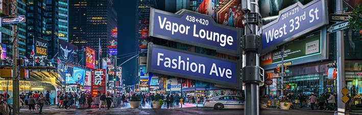 If you're in London or NYC, check out the new vape lounges