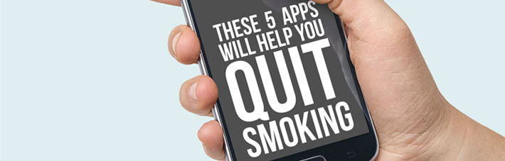 5 Quit smoking apps