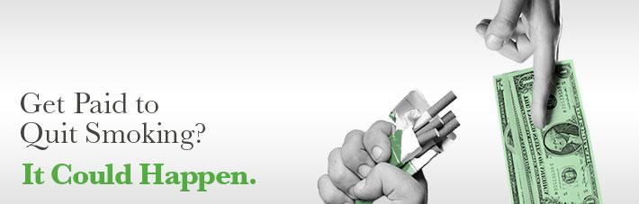 Get paid to quit smoking