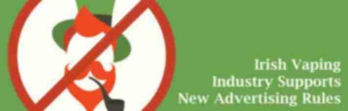 Irish vaping industry supports advertising