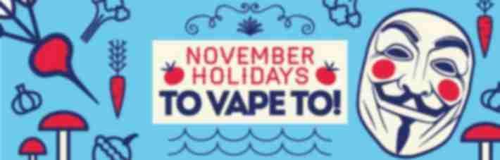 September Holidays You Can Vape To