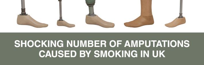 smoking causes amputations