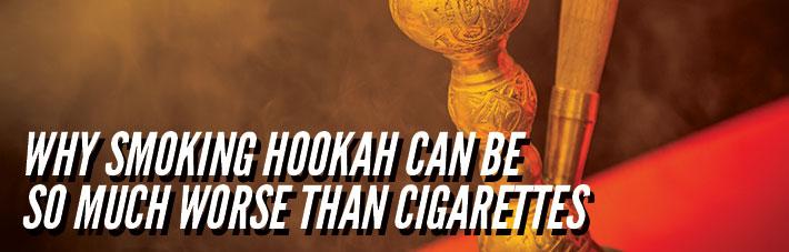 smoking hookah harmful