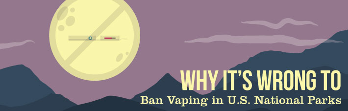 Vaping ban in U.S. parks