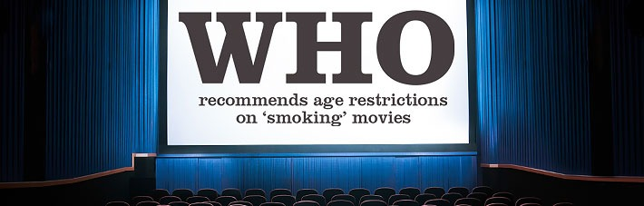 WHO recommends age restrictions on 'smoking' movies