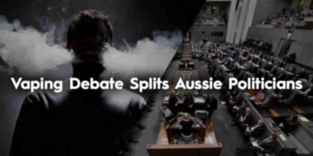 Vaping Debate Splits Australian Politicians