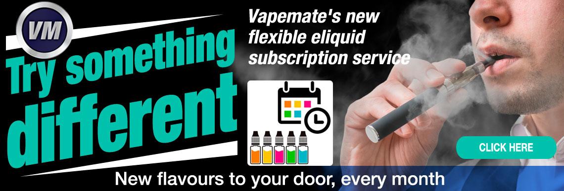 Vapemate's new, flexible eliquid subscription service