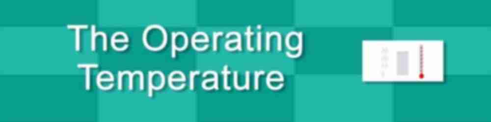 vape battery operating temperature