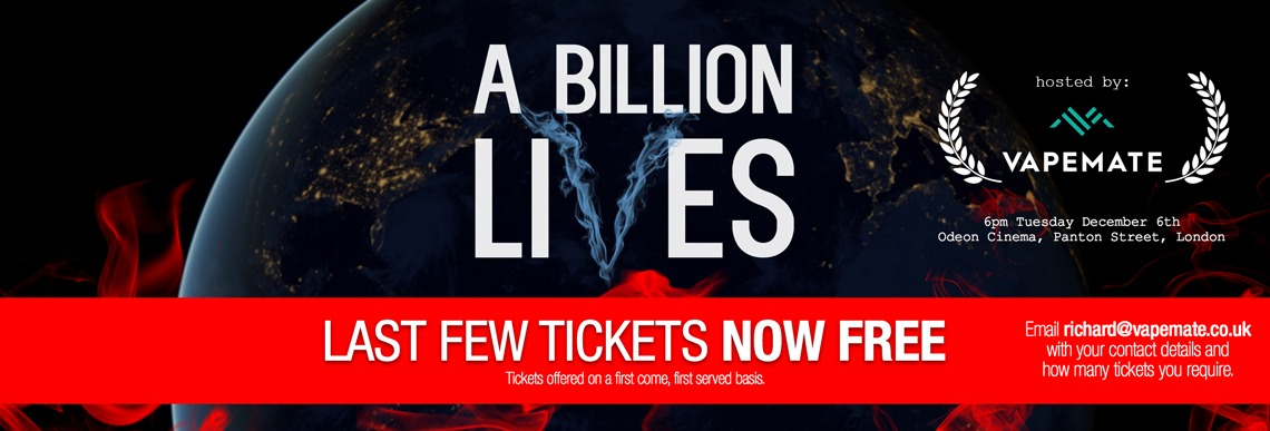 Buy tickets for A Billion Lives documentary