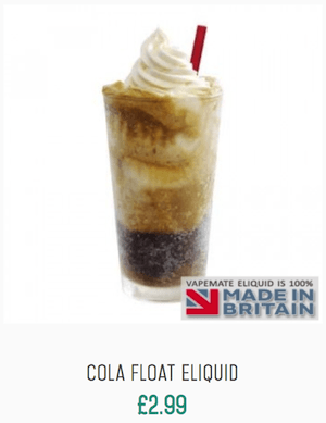 Cola float eliquid