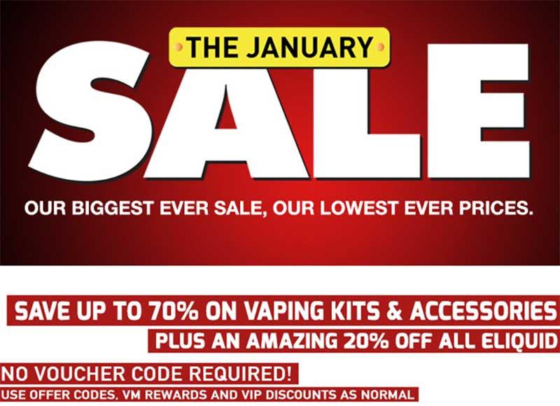 Vapemate January sale