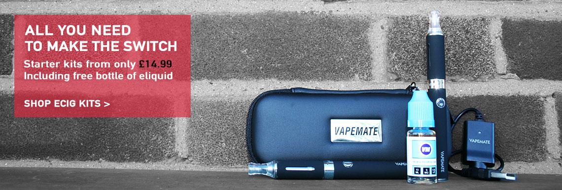 Starter kit and ecigarette kits