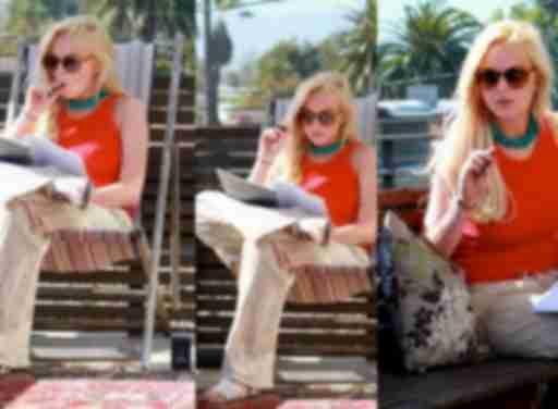 Lindsey Lohan Celebrity Vaping