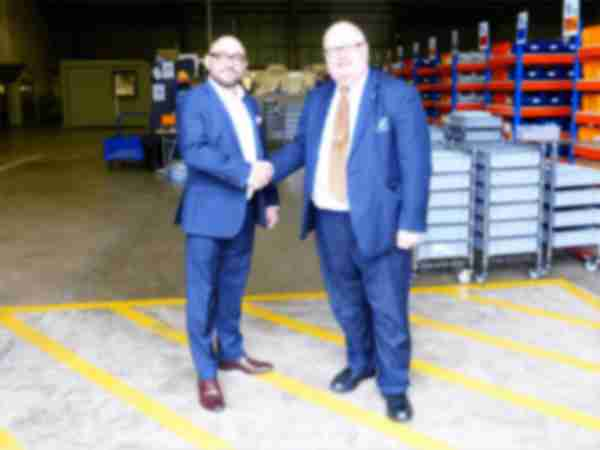 Sir Eric Pickles and Vapemate CEO, Simon Manthorpe