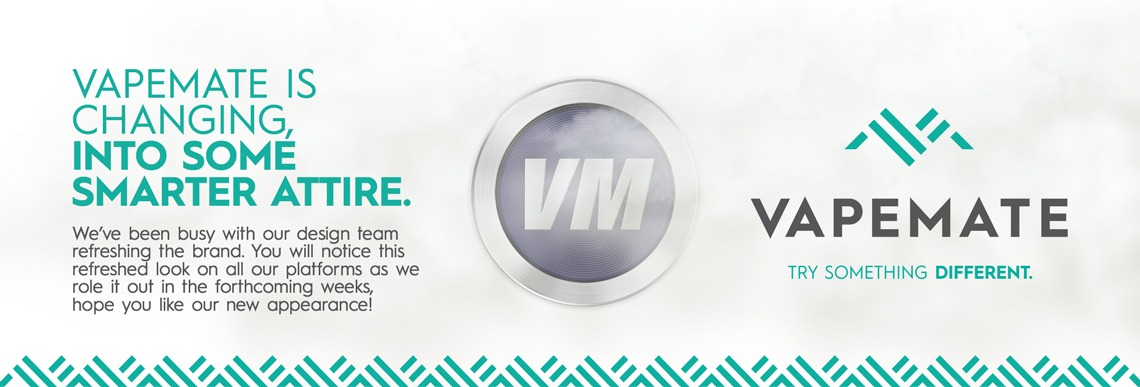 Vapemate is changing into some smarter attire