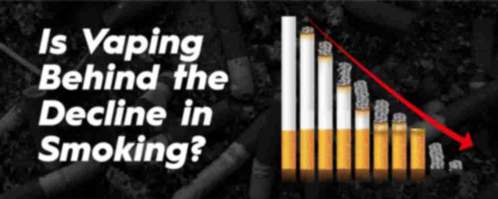 Is vaping causing the decline of smokers?